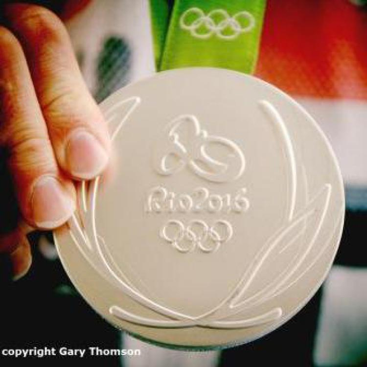 image Rio 2016 Olympic silver medal